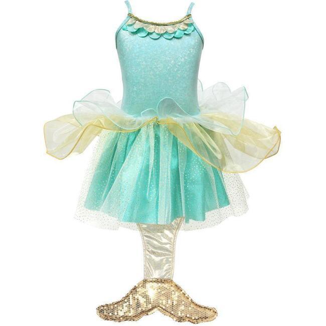 Mermaid Princess Dress, Mint