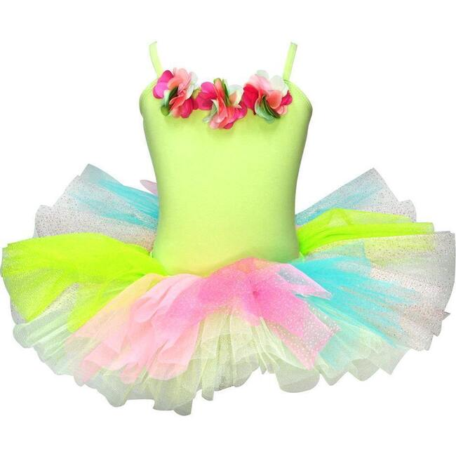 Forest Fairy Tutu Dress, Green