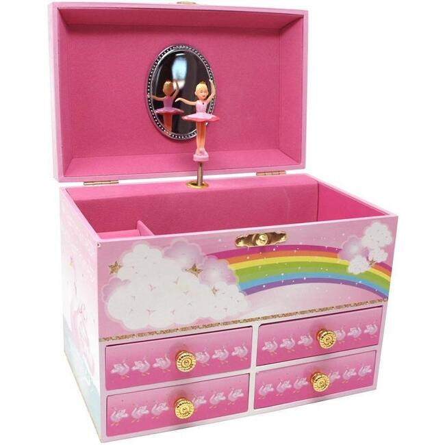 Little Ballet Dancer Medium Music Box