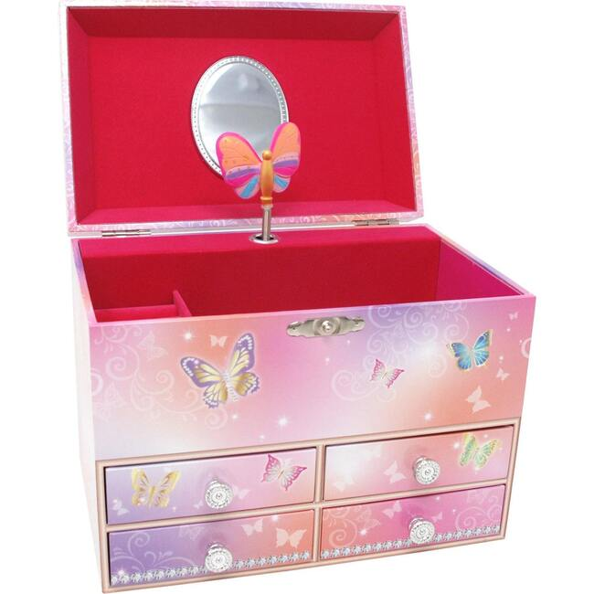 Butterfly Skies Medium Music Box