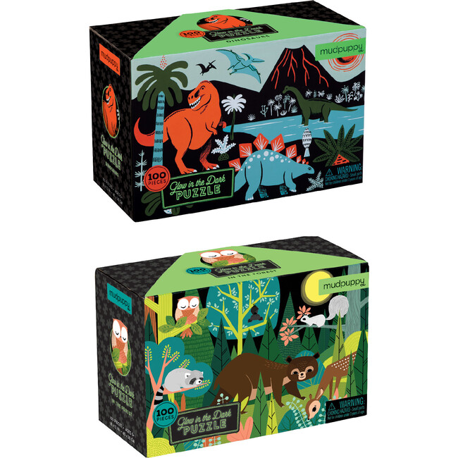 Glow In The Dark Bundle: Dinosaurs & In The Forest