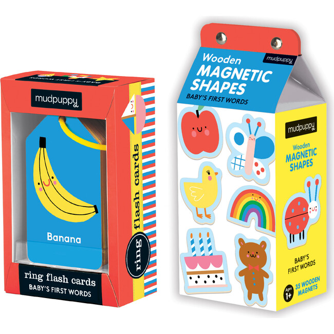Baby's First Words: Flash Card and Magnet Set