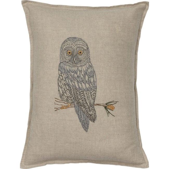 Great Grey Owl Pillow