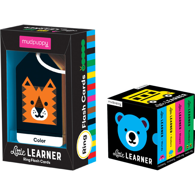 The Little Learner: Flash Card and Book Set