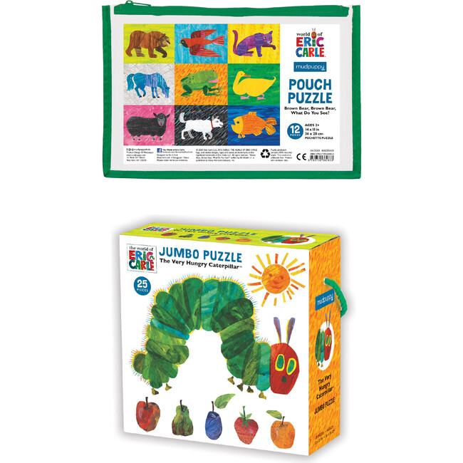 World of Eric Carle: Brown Bear and Hungry Caterpillar Puzzle Set