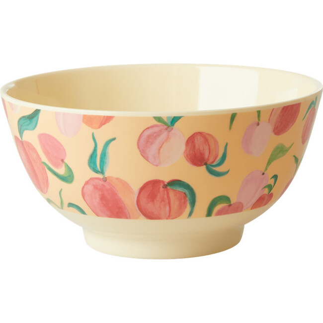 Medium Melamine Bowl, Peach