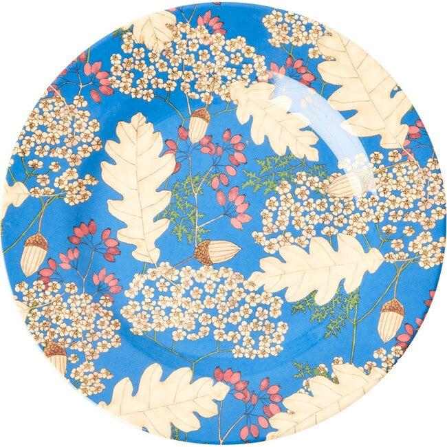 Melamine Side Plate, Autumn/Acorns