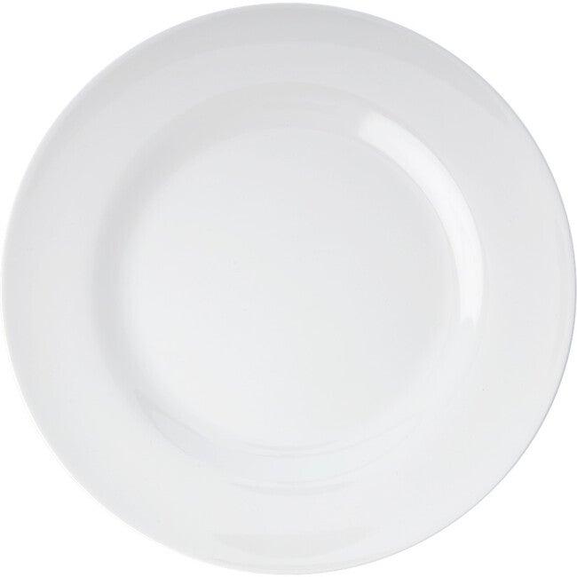 Melamine Round Dinner Plate, White