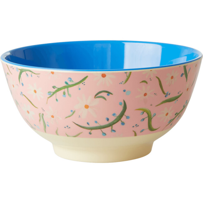 Medium Melamine Bowl, Daisies