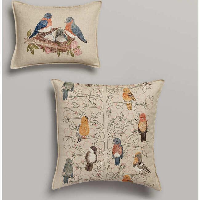 Bluebird Nest Pocket Pillow