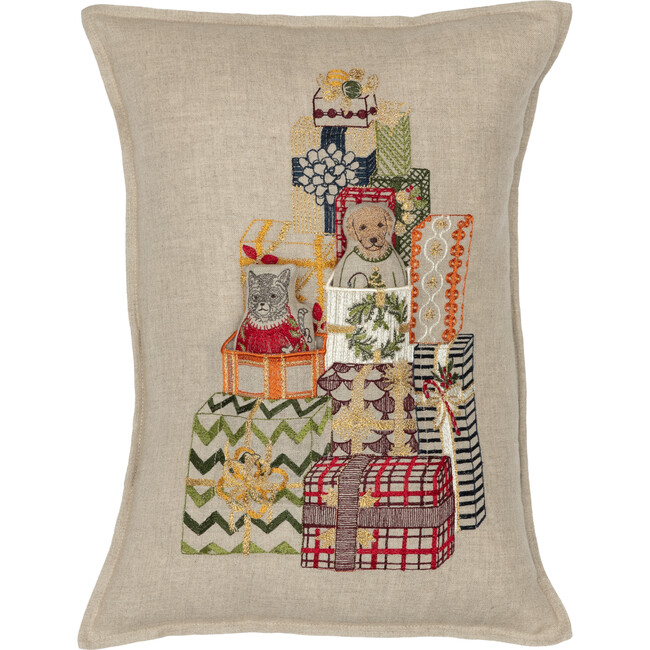 Gift Tree Pocket Pillow