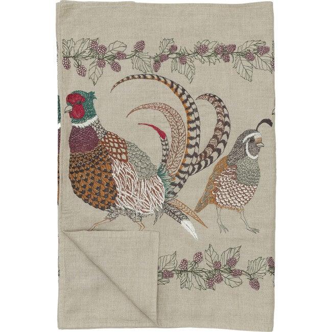 Pheasant & Quail Table Runner