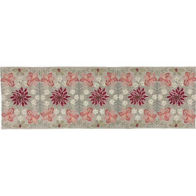 Christmas Flowers Table Runner - Tabletop - 1