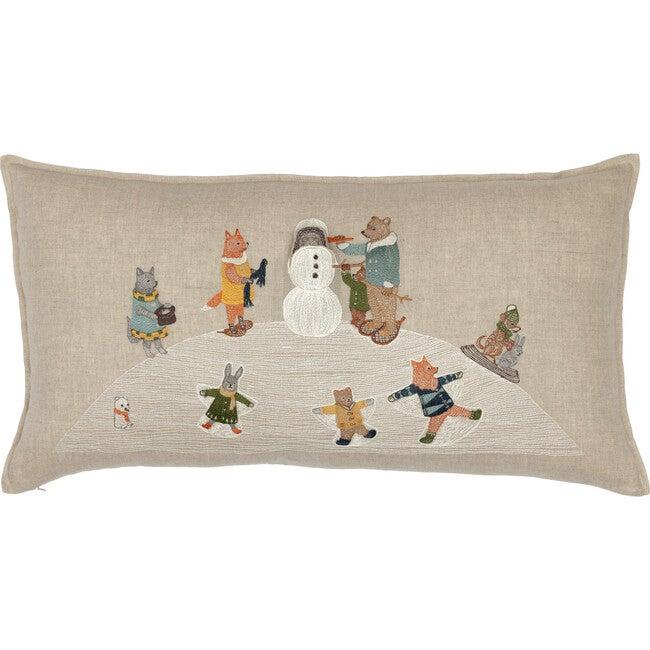 Snow Day Pocket Pillow