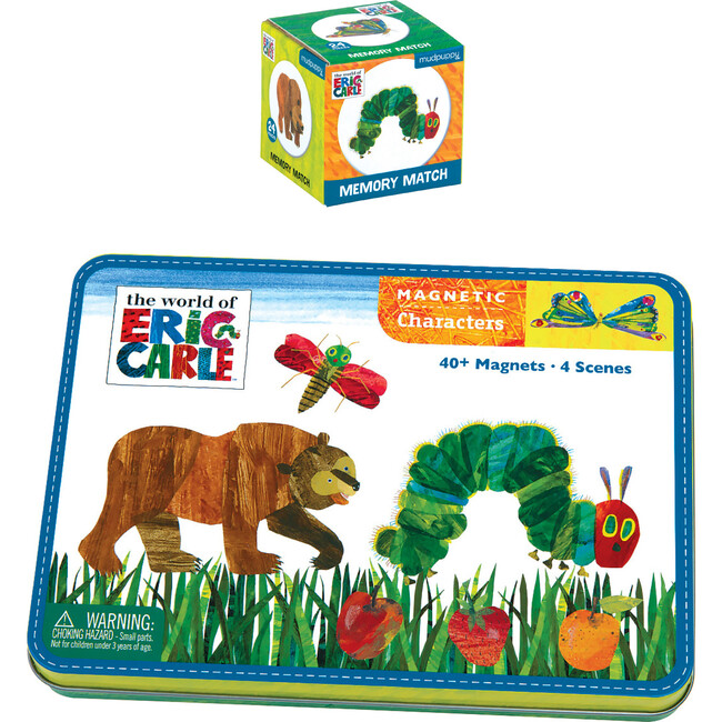Eric Carle The Very Hungry Caterpillar: Memory Match and Magnetic Character Set