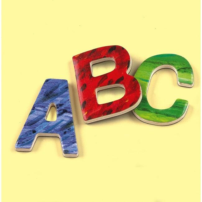 Eric Carle Uppercase Letters: Wooden Magnet Sets