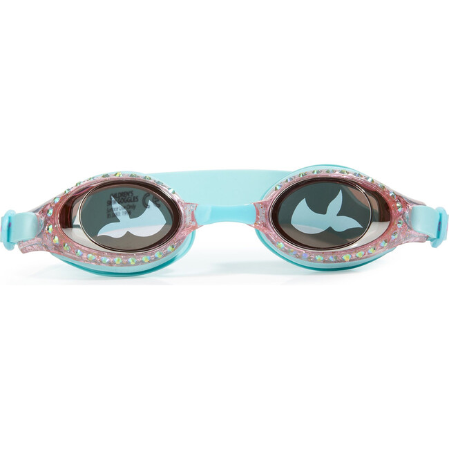 Mermaid In Training Swim Goggles, Coral Reef