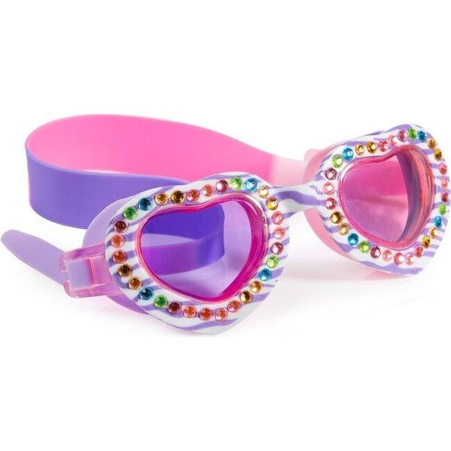 Jungle Jam Swim Goggles, Jungle Juice Purple - Goggles - 1