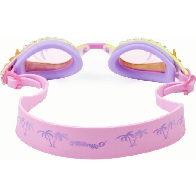 Island Hopping Swim Goggles, Pink Sand