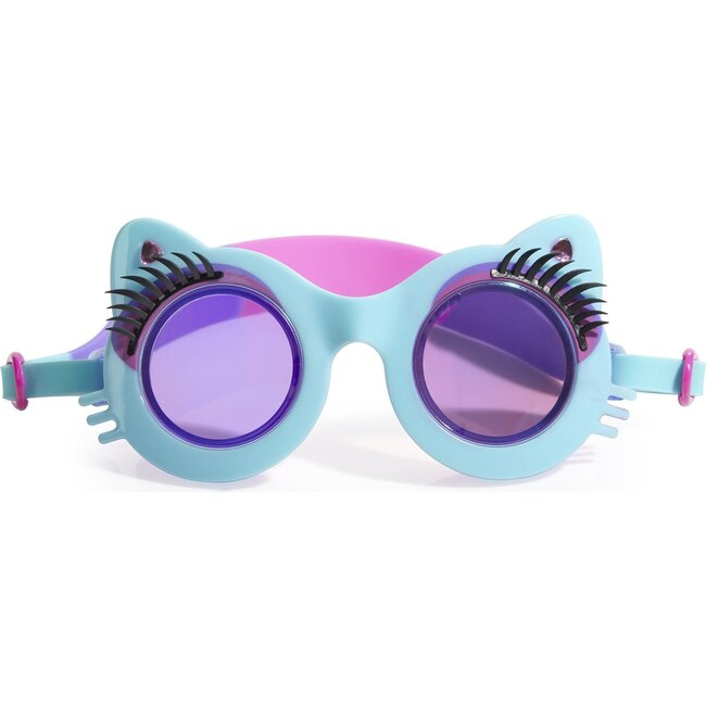 Pawdry Hepburn Goggles, Mittens Blue - Goggles - 1