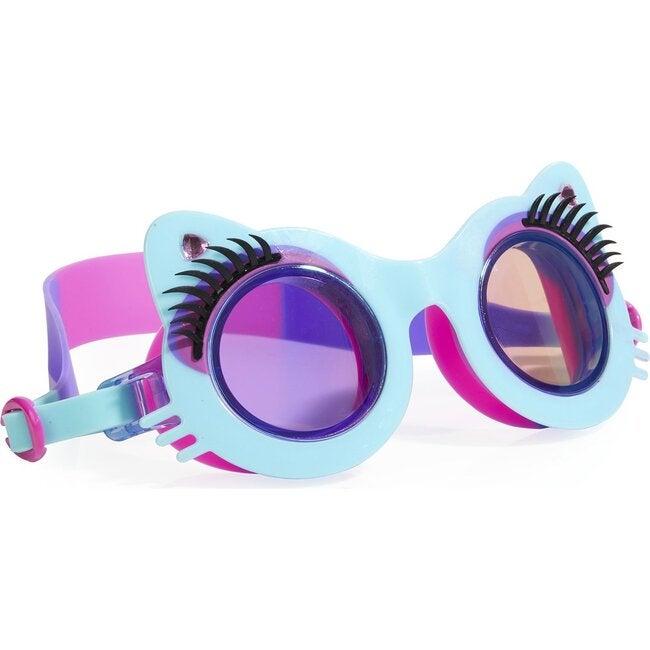 Pawdry Hepburn Goggles, Mittens Blue