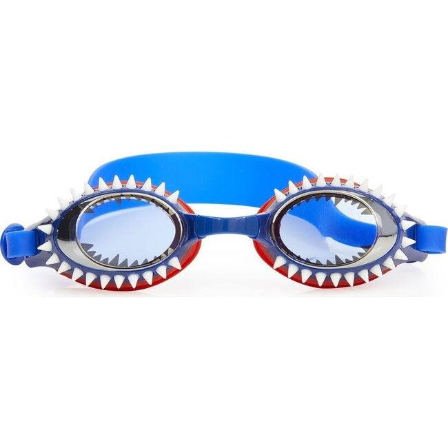 Fish N Chips Goggles, Tiger Shark Navy