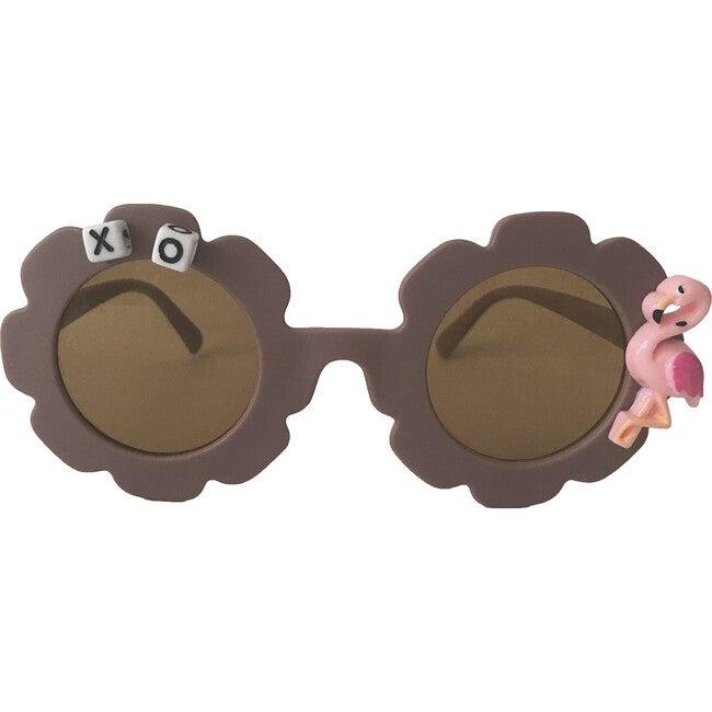 Flamingo Monogrammable Sunglasses, Purple