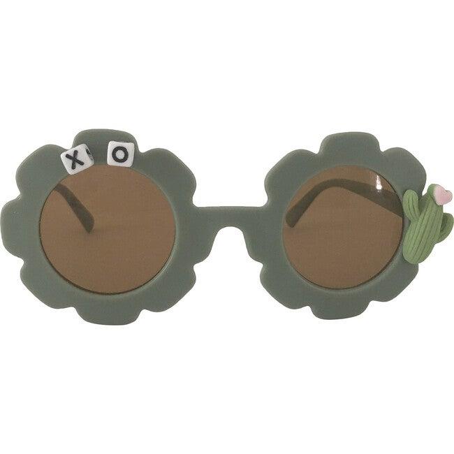 Cactus Monogrammable Sunglasses, Green