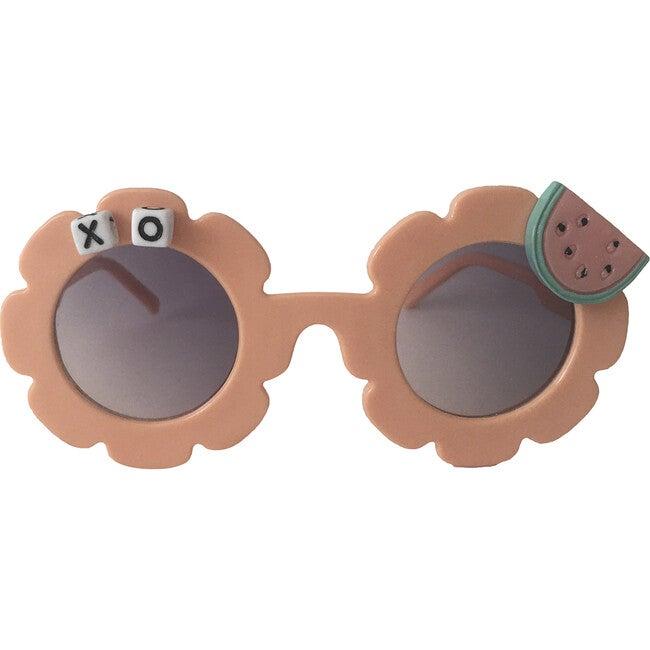 One in a Melon Monogrammable Sunglasses, Peach - Sunglasses - 1