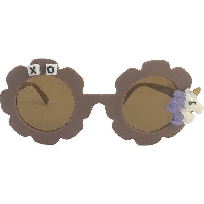 Unicorn Monogrammable Sunglasses, Purple