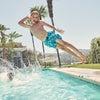 Christopher Swim Trunk, Ocean Waves - Swim Trunks - 5