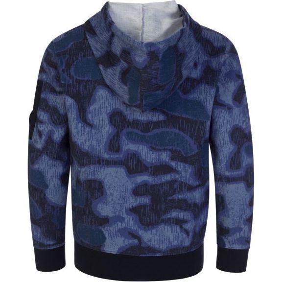 Hooded Sweatshirt, Blue