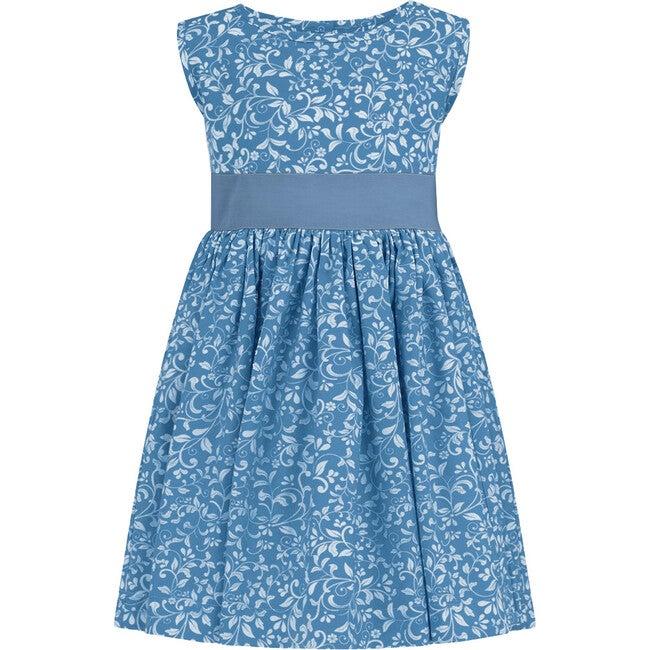 Bloomsbury Celebration Dress, Periwinkle Blue