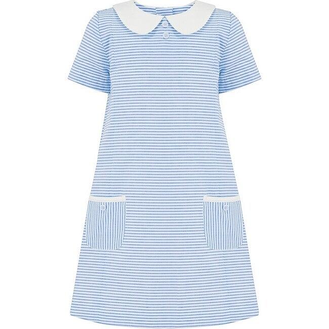 Carnaby Dress, Nautical Stripe - Dresses - 1