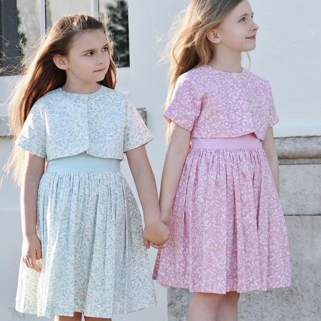 Bloomsbury Celebration Dress & Bolero Set, London Rose