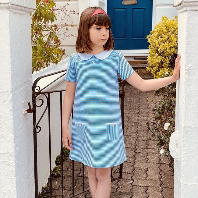 Carnaby Dress, Nautical Stripe