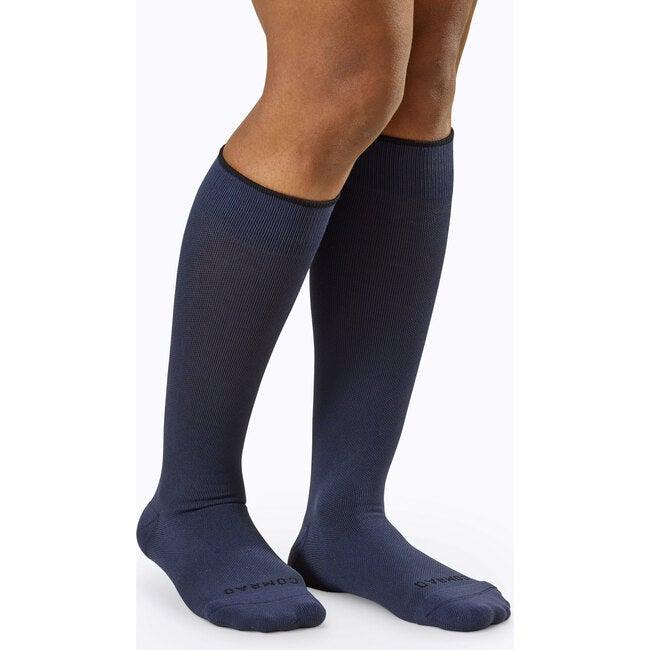 Knee-High Compression Socks – 3-Pack Solids, Navy