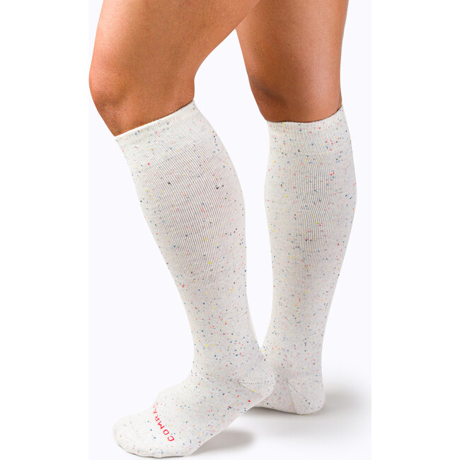 Knee High Compression Socks Cotton, Stargazer