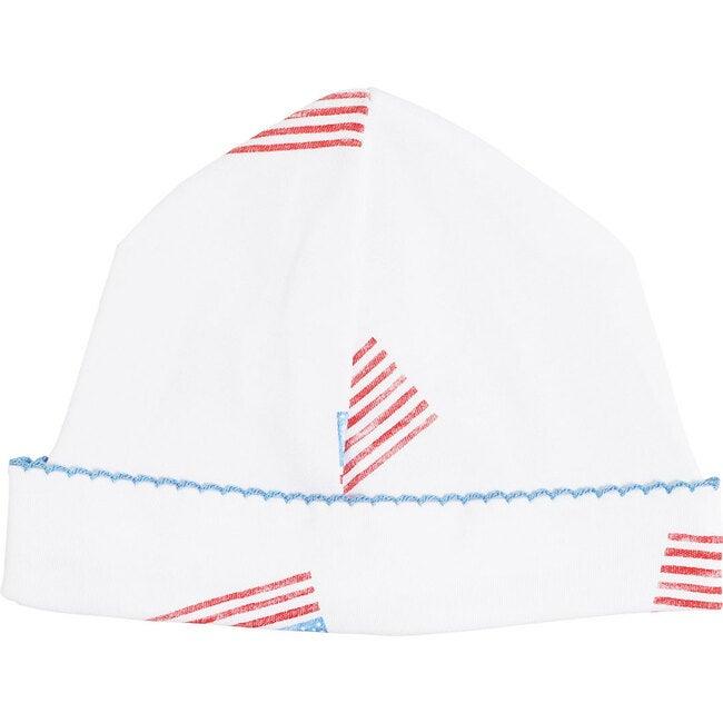 American Flag Receiving Hat