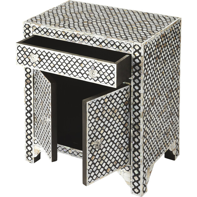 Vernais Mother-of-Pearl Accent Chest