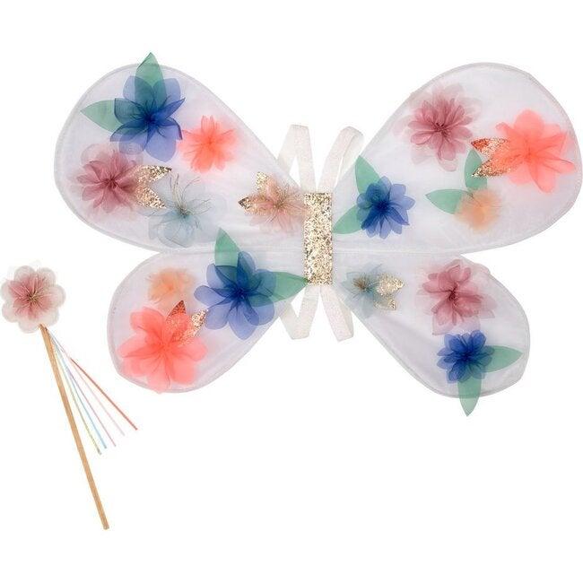 Organza Flower Wings & Wand