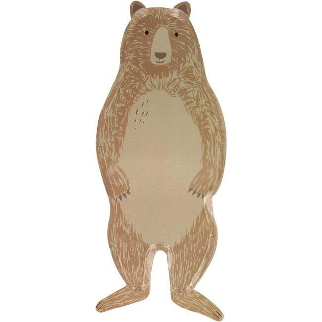 Brown Bear Plates