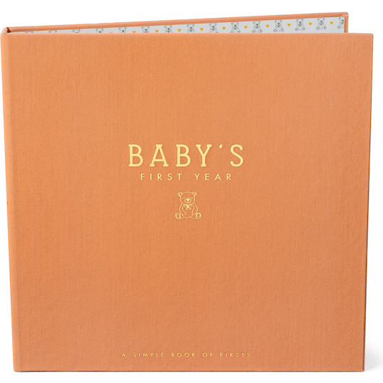Teddy Bears' Picnic Luxury Memory Baby Book