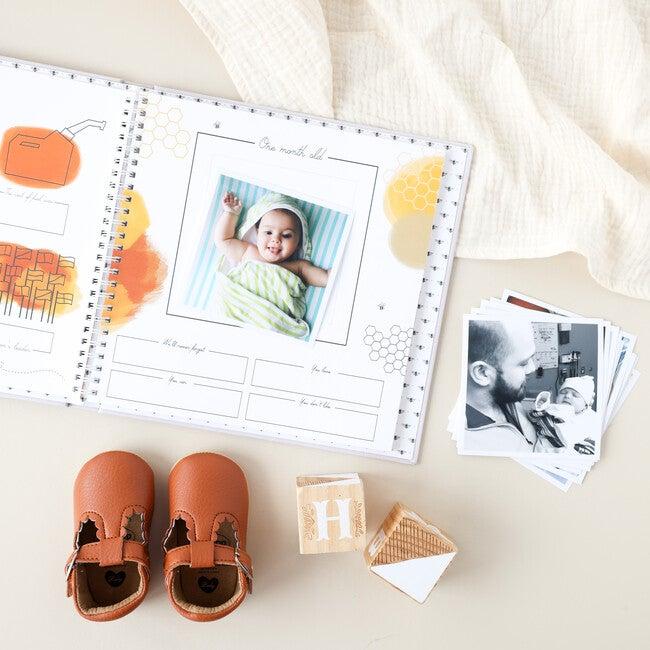 Honey Bee Luxury Memory Baby Book
