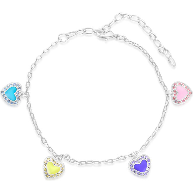 Enamel Heart bracelet - Bracelets - 1