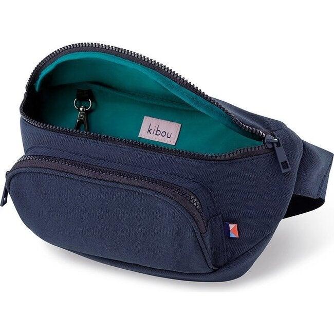 Kibou Diaper Bag, Midnight Canvas - Diaper Bags - 1