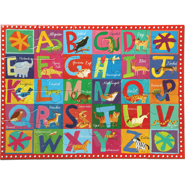 Animal ABC 20 Piece Puzzle