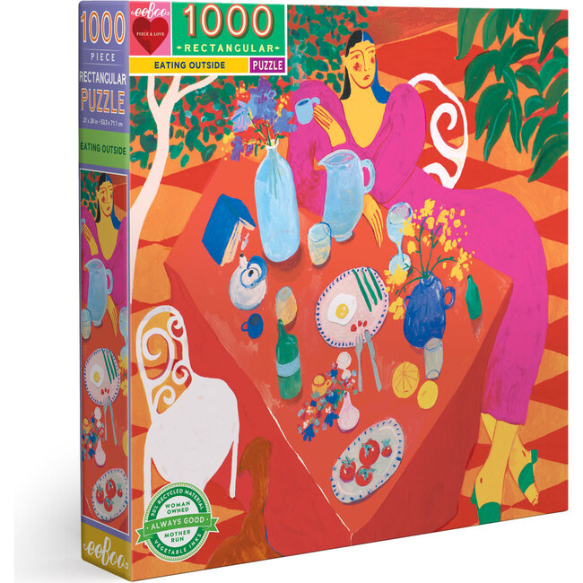 Eating Outside 1000-Piece Puzzle