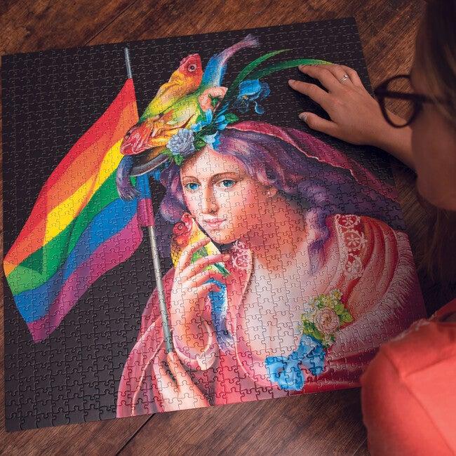 Liberty Rainbow 1000-Piece Puzzle