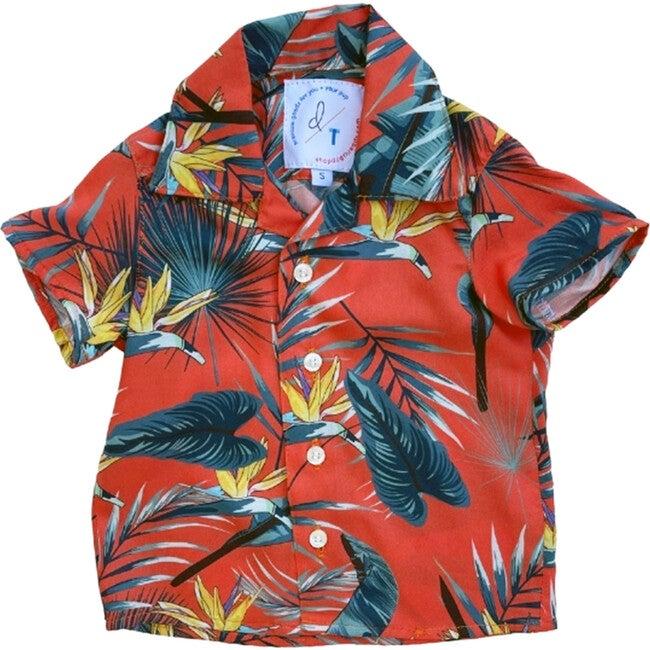 Kid's Jungle Bird BBQ Shirt